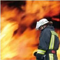 Equipo personal para bomberos. Equipo contra incendios