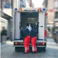 Equipos de emergencia sanitaria. Ambulancias sanitaria