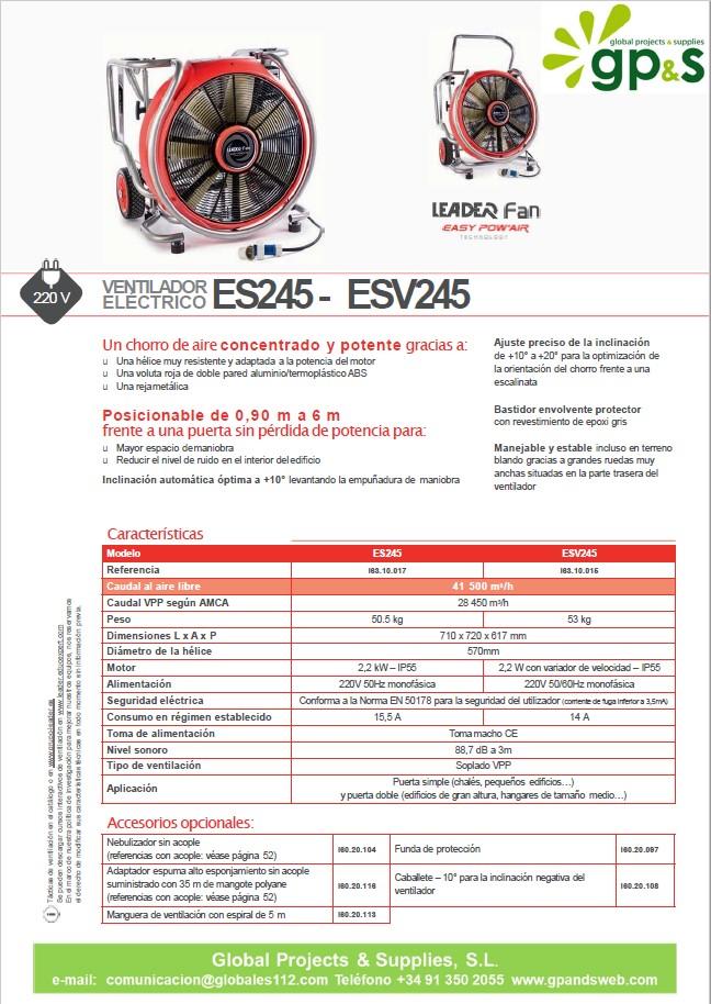 ES245 -ESV245