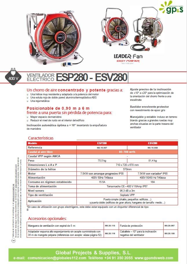 ESP280 -ESV280