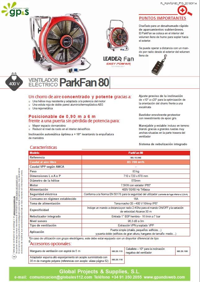 PARK FAN 80