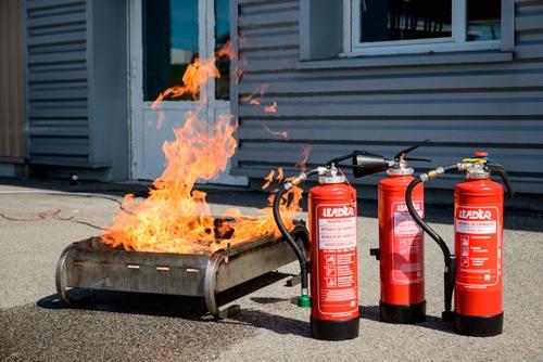 Extintores de formación