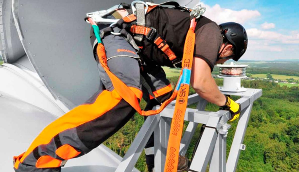 Rescate de altura SKYLOTEC protección de seguridad